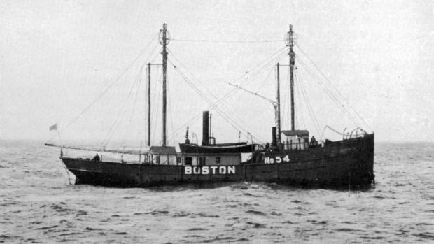 LV 54 Boston Lightship 1912