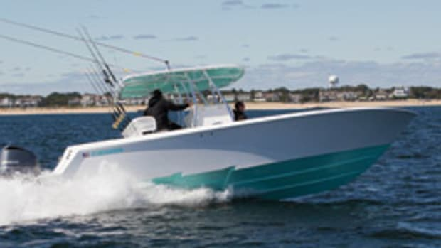 Stepped hulls (like the one on this Contender 30 ST) deliver improved performance and efficiency, but they're not the best choice for everyone.