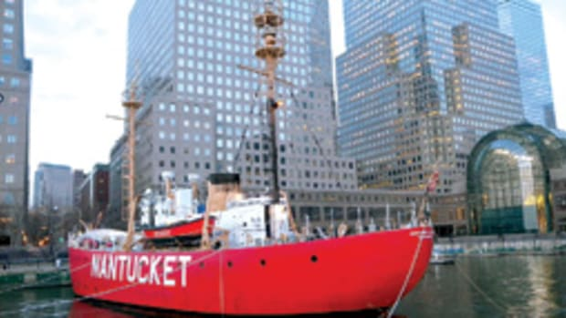 As the only fully functional lightship in the United States, the Nantucket Lightship WLV-612 has been refit for first-class entertaining.