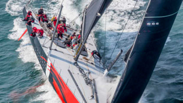 Comanche is the fastest monohull on the planet, sailing a record 618 nautical miles in 24 hours at an average speed of 25.75 knots.