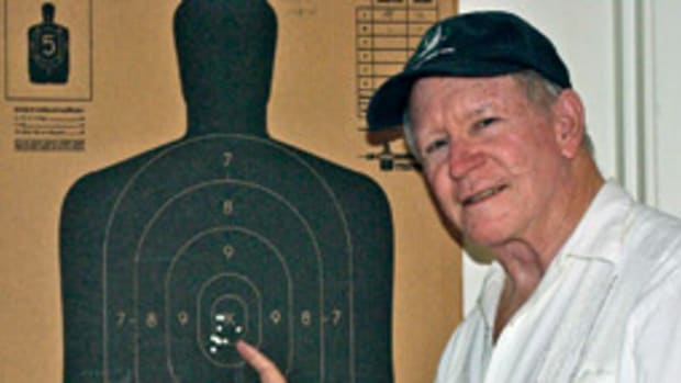 Price's shooting earned him the Top Gun award in the Houston FBI Citizen's Academy.