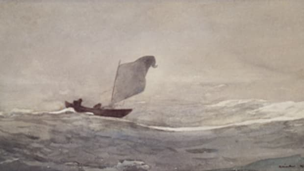 Watercolor by Winslow Homer.