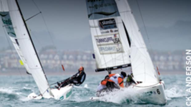 The 2012 Olympics will feature a women's match racing event for the first time in the Elliott 6m Class.