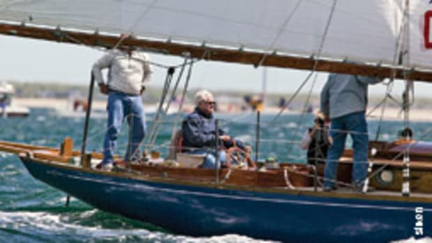 Kennedy saw sailing as a metaphor for life.