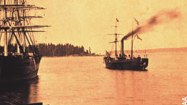 During the Civil War, Coast Survey field staff scouted, mapped, cleared sunken ships from channels and placed navigation aids to help Union forces.