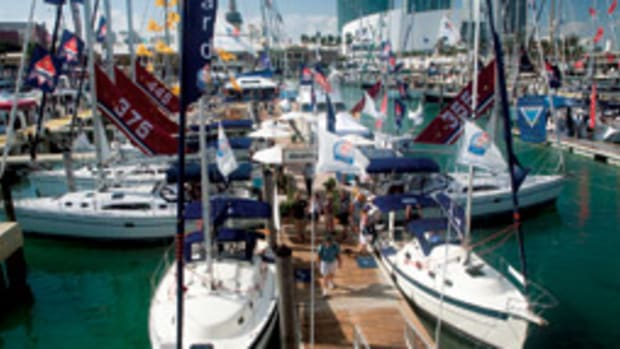 Sailors will set a course for the Strictly Sail segment of the show at Bayside's Miamarina.