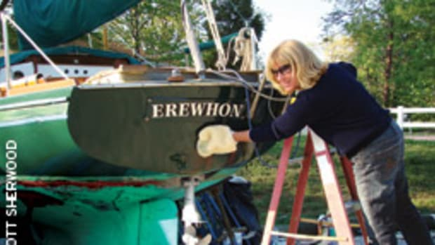 The Bay Tripper recruited Nancy Cronin, a Manhattan account executive visiting Annapolis, to lend a soft touch polishing Erewhon.