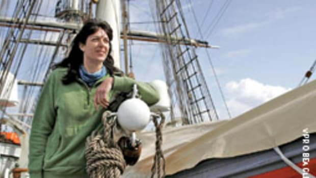 Sarah Darwin's voyage highlighted just how much has changed since Darwin first set foot aboard the HMS Beagle.