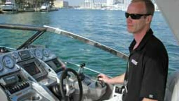 Soundings senior reporter Chris Landry has test-driven many boats with joystick controls.