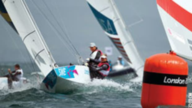 Fredrik Loof and Max Salminen of Team Sweden won gold at the London Olympics with a PStar built by Jon VanderMolen.