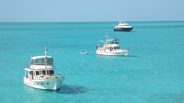 Nearly every boat in the Bahamas and the Caribbean is directly discharging into the water, with few reported ill effects. That includes the big charter fleets.
