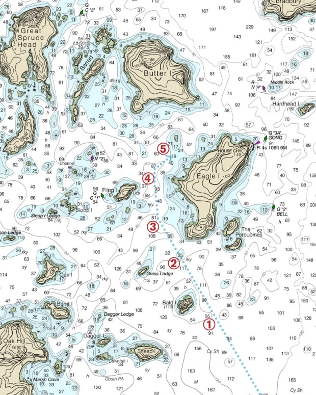 seamanship-noaa-chart