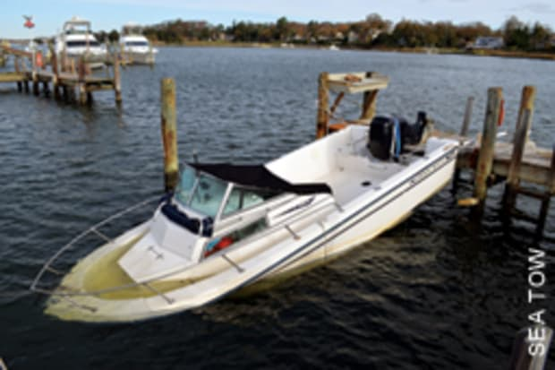 The smart buyer - Purchasing a storm-damaged boat