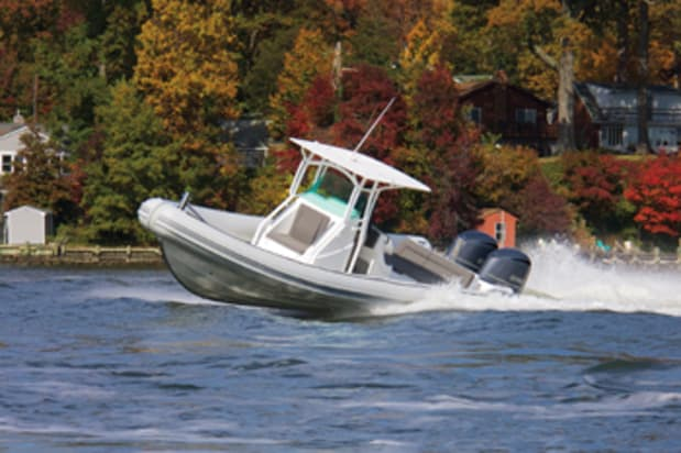 Rigid hull inflatables: bigger is better - Soundings Online