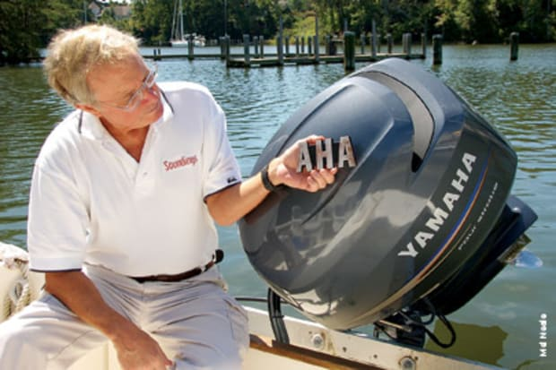 An outboard that's out of his world - Soundings Online