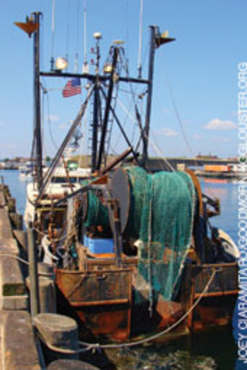 Patriot's captain, Matteo Russo, and his wife bought the steel-hulled vessel in 2008.