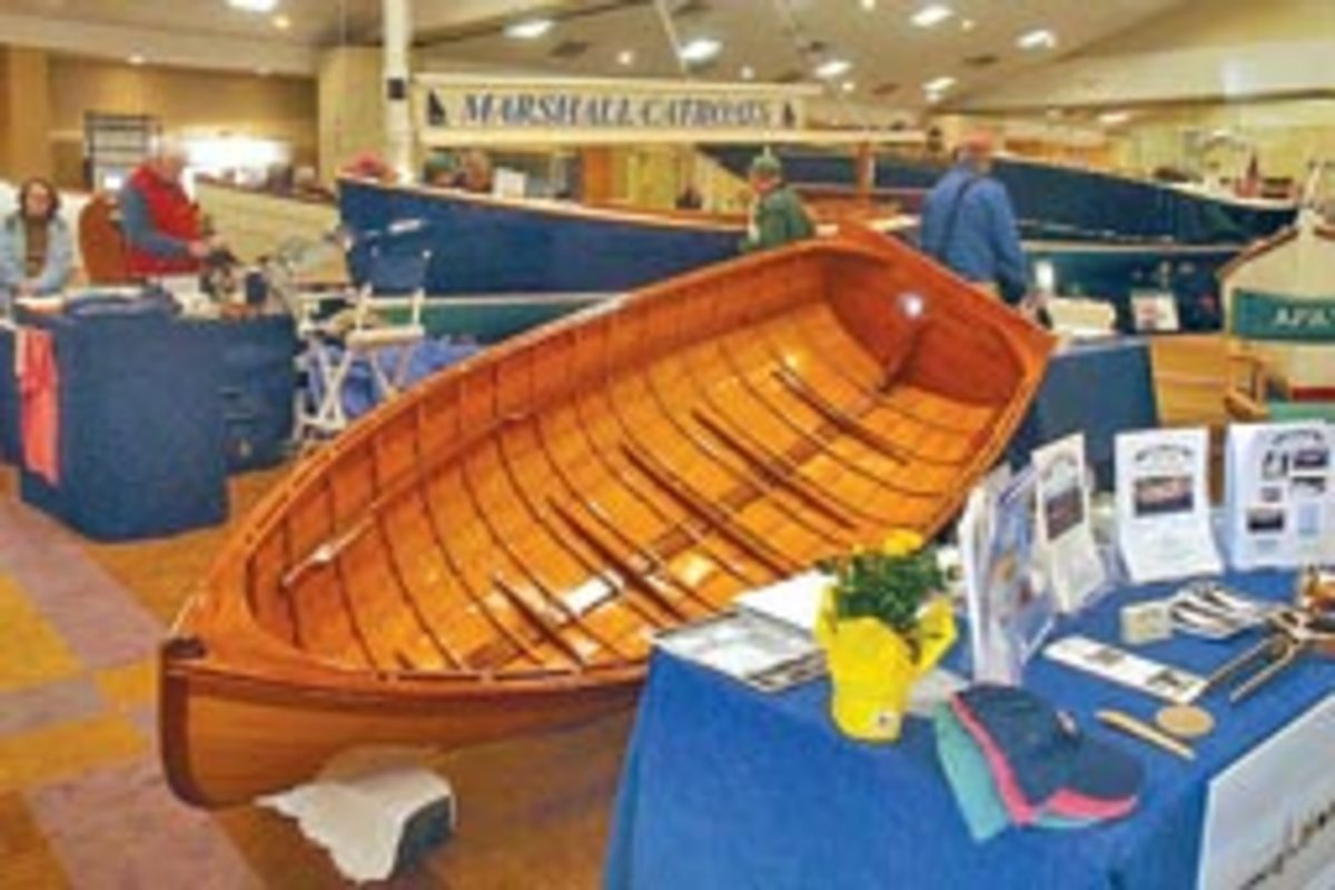 Craftsmanship and unique design are what draw people to the Boatbuilders' Show on Cape Cod.