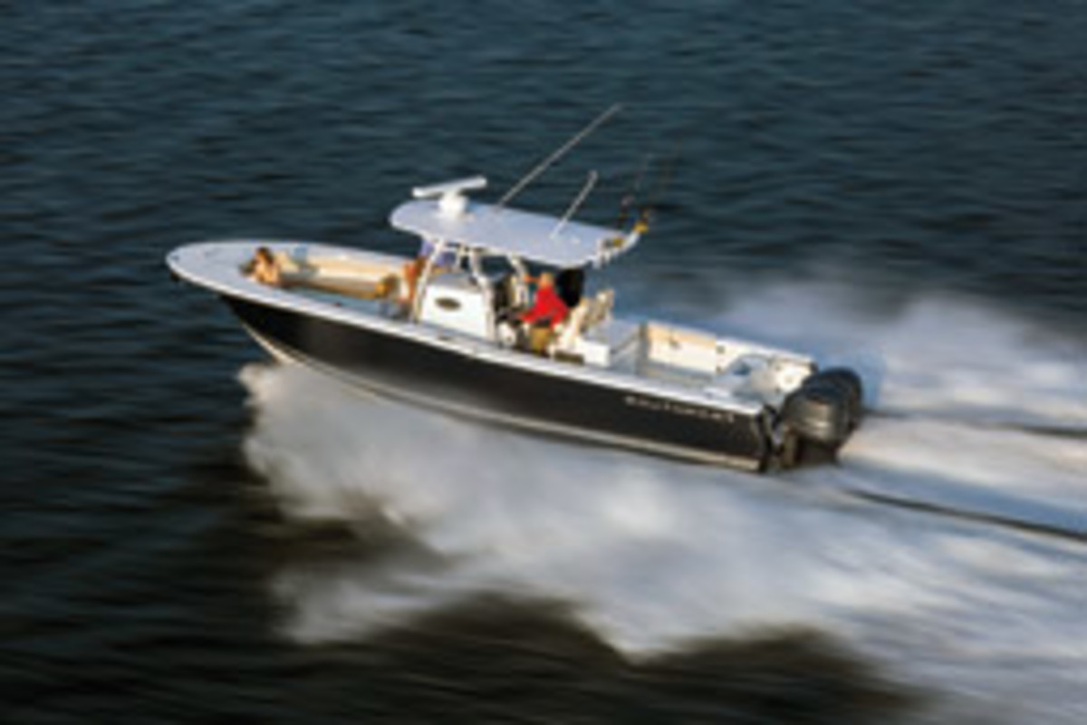 Kelmith Lopez has sea-trialed the Southport 33 FE (shown here) and several other center consoles as part of his boat-buying research.