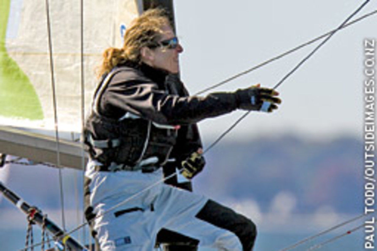 By the third day of racing, Melges 24 North American Championship competitors had clear blue sky.