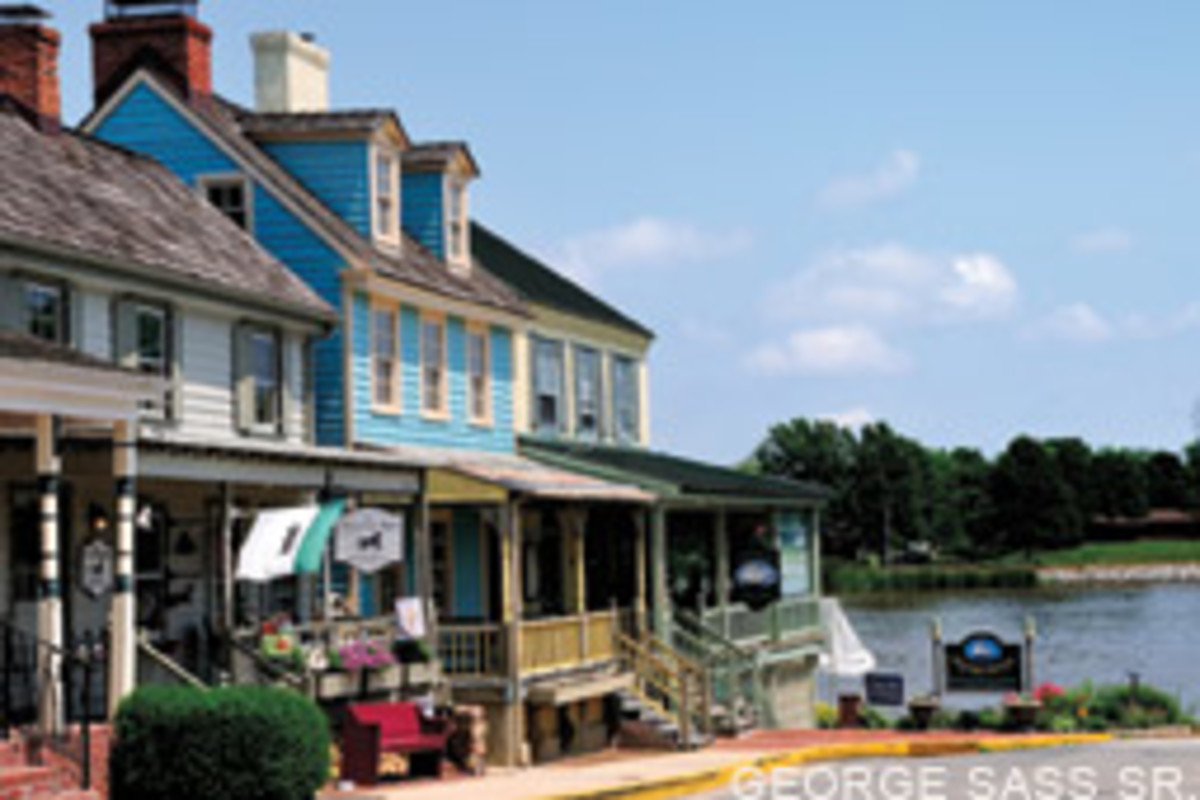 Chesapeake City's Bayard House is a welcome stop for cruisers year-round.