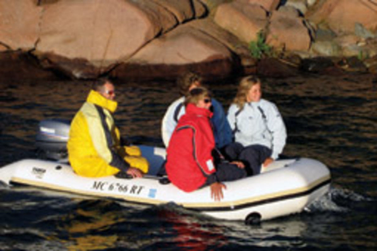 The Slikkers family is a boating and fishing family.
