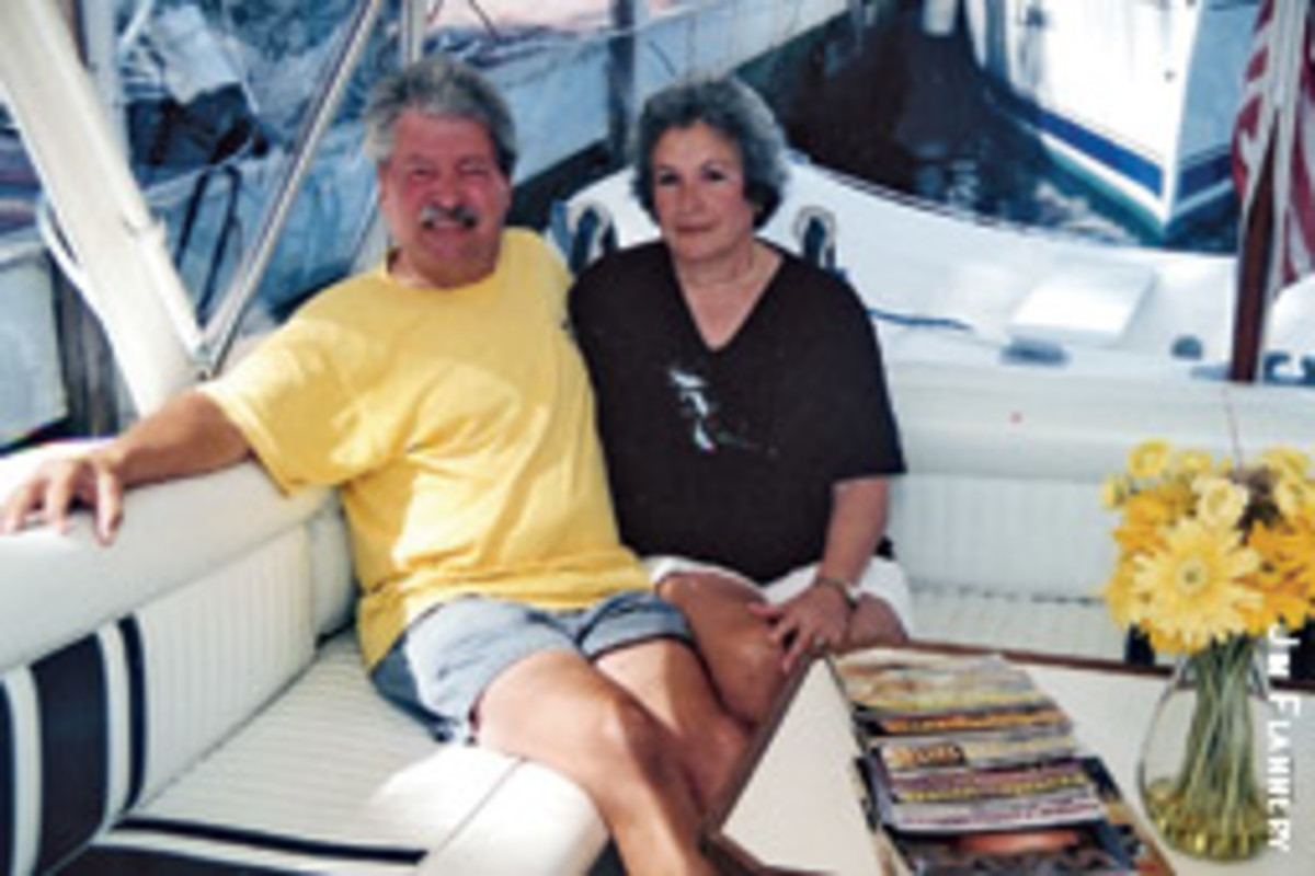 Walter and Joann Dethier feared the worst when they realized their boat was being taken from the marina.