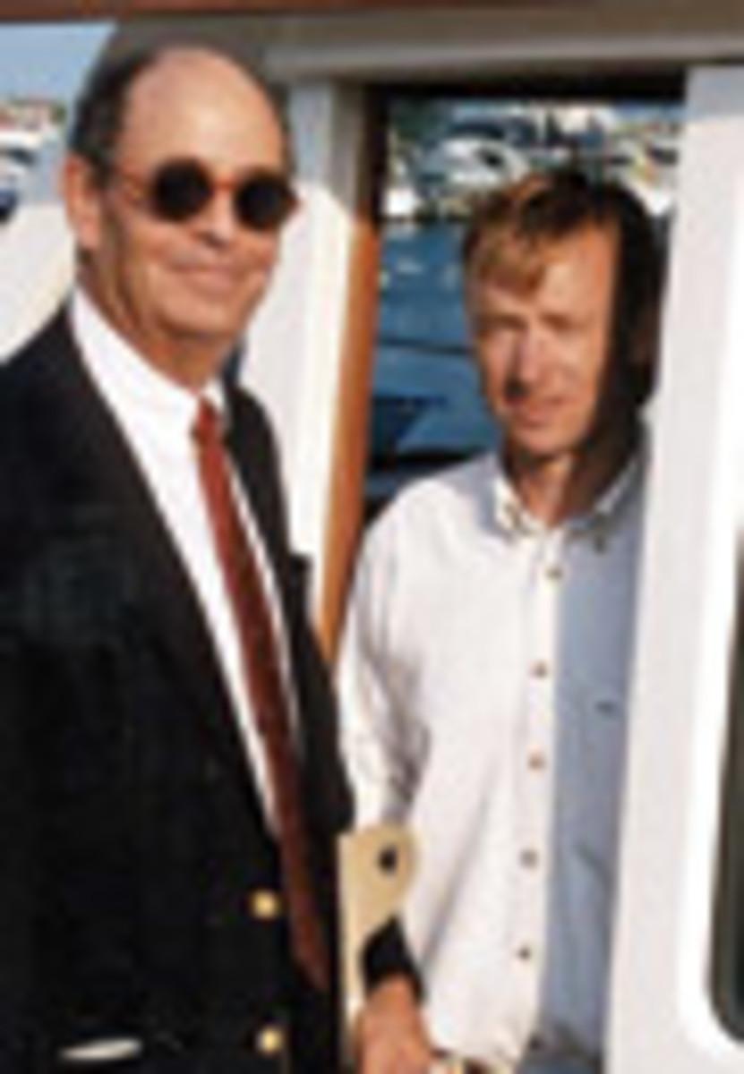 Mark Ellis (left) and Mark Bruckmann