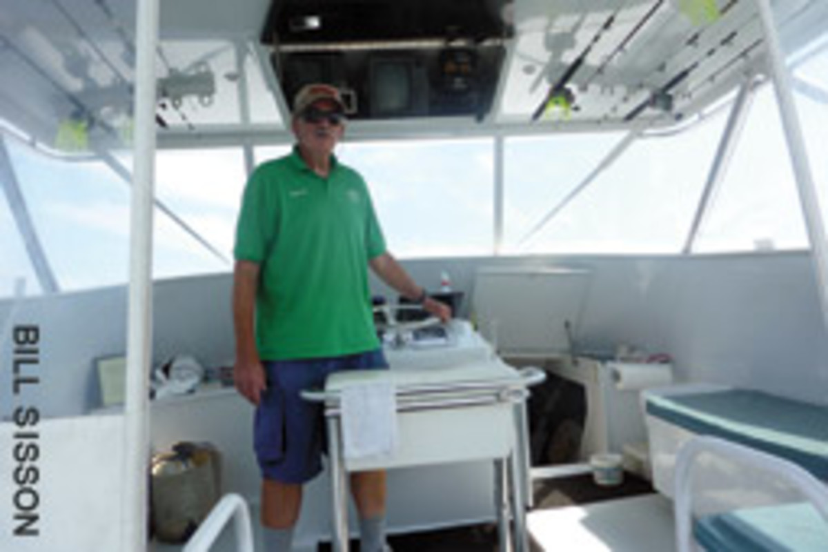 Capt. Al Anderson has been tagging and releasing fish for more than four decades.