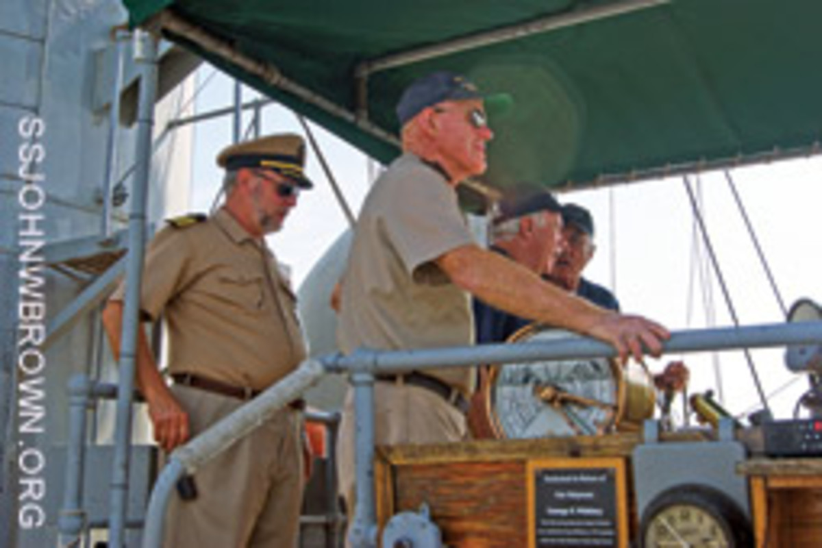 The Brown's lifeblood is dedicated volunteers. Several times a year there are living history cruises on the Patapsco River.