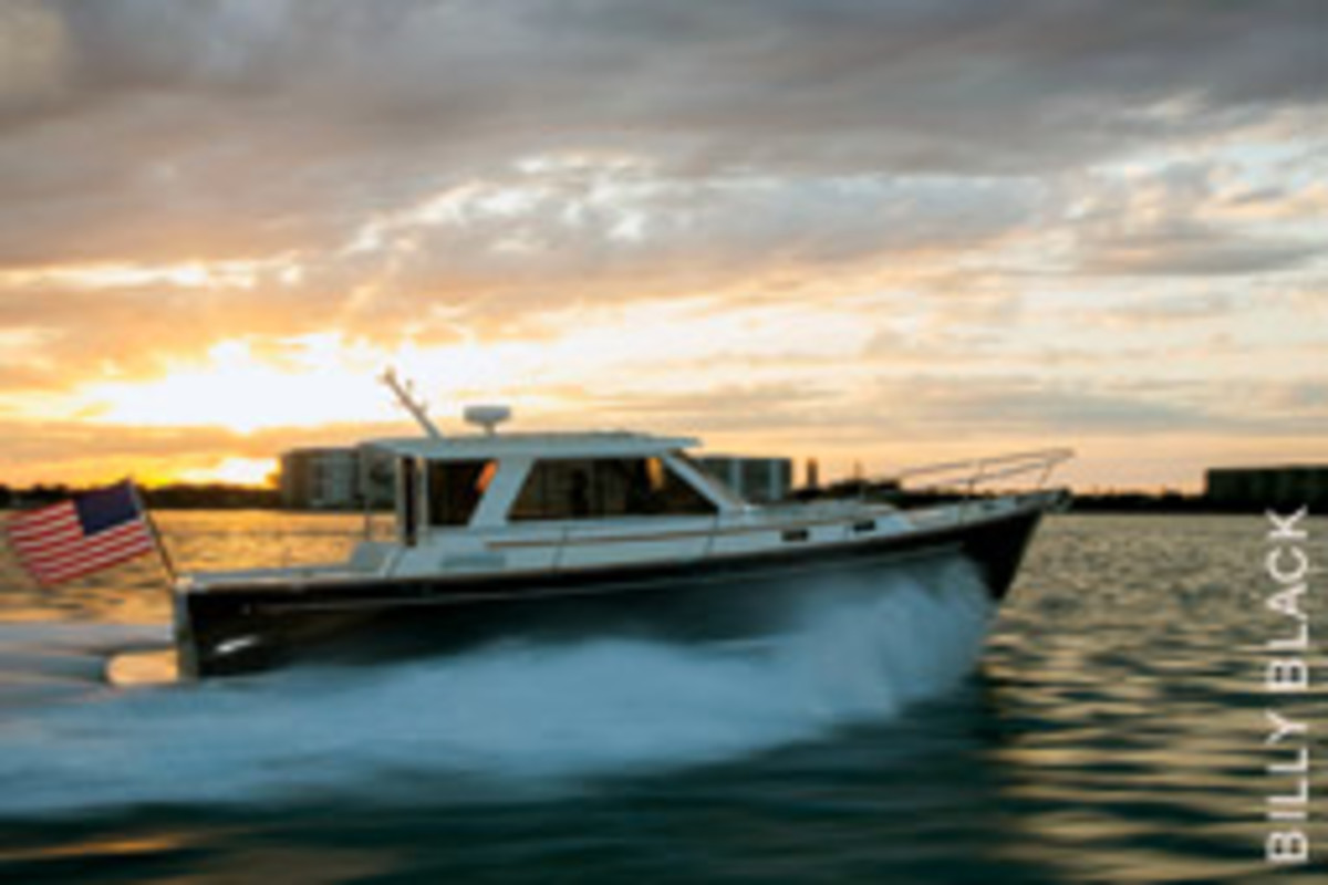 Ellis designed the Abaco 40 without Down East ambitions, but she is bound to please fans of traditional New England styling,