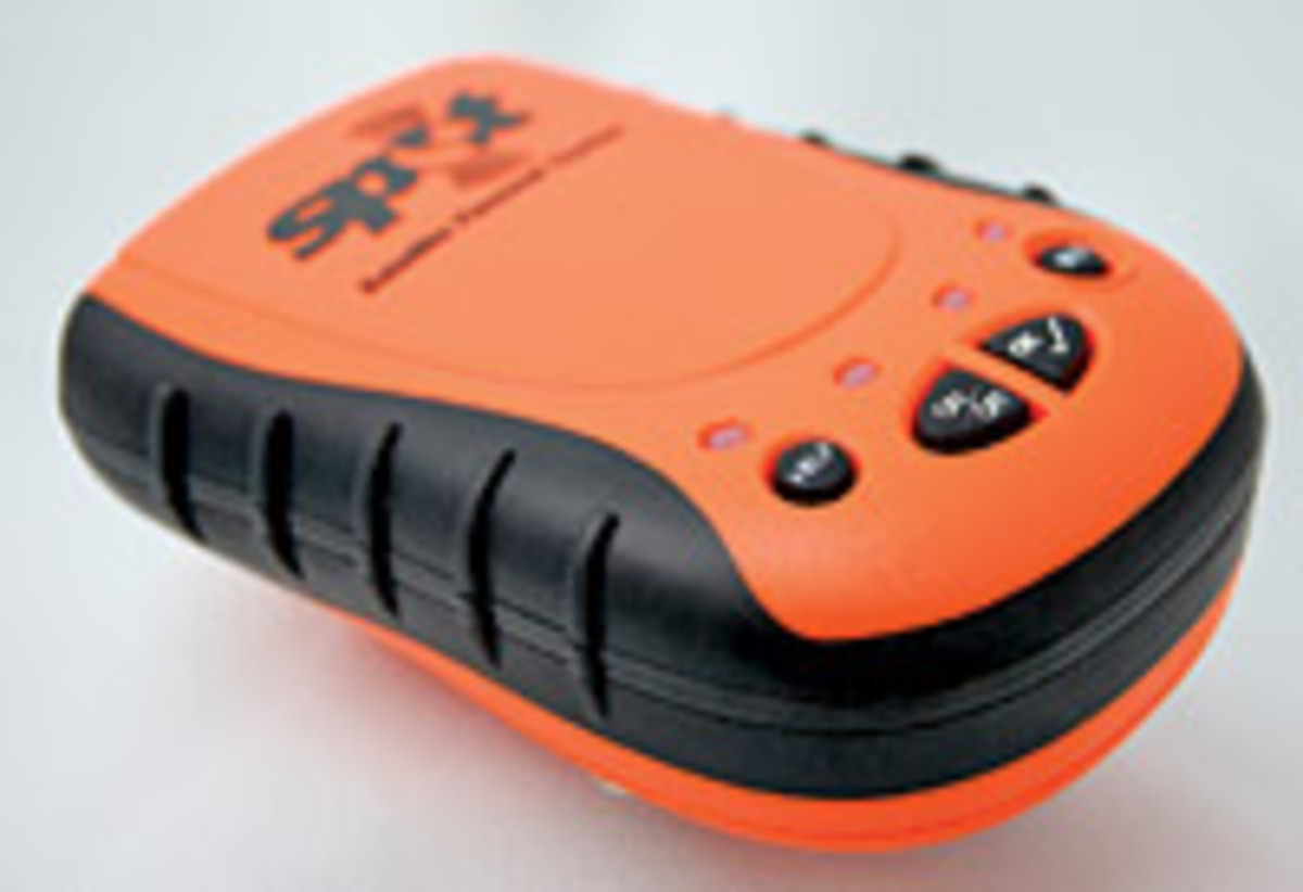 THe SPOT personal satellite tracker can automatically inform friends and family that you are safe.