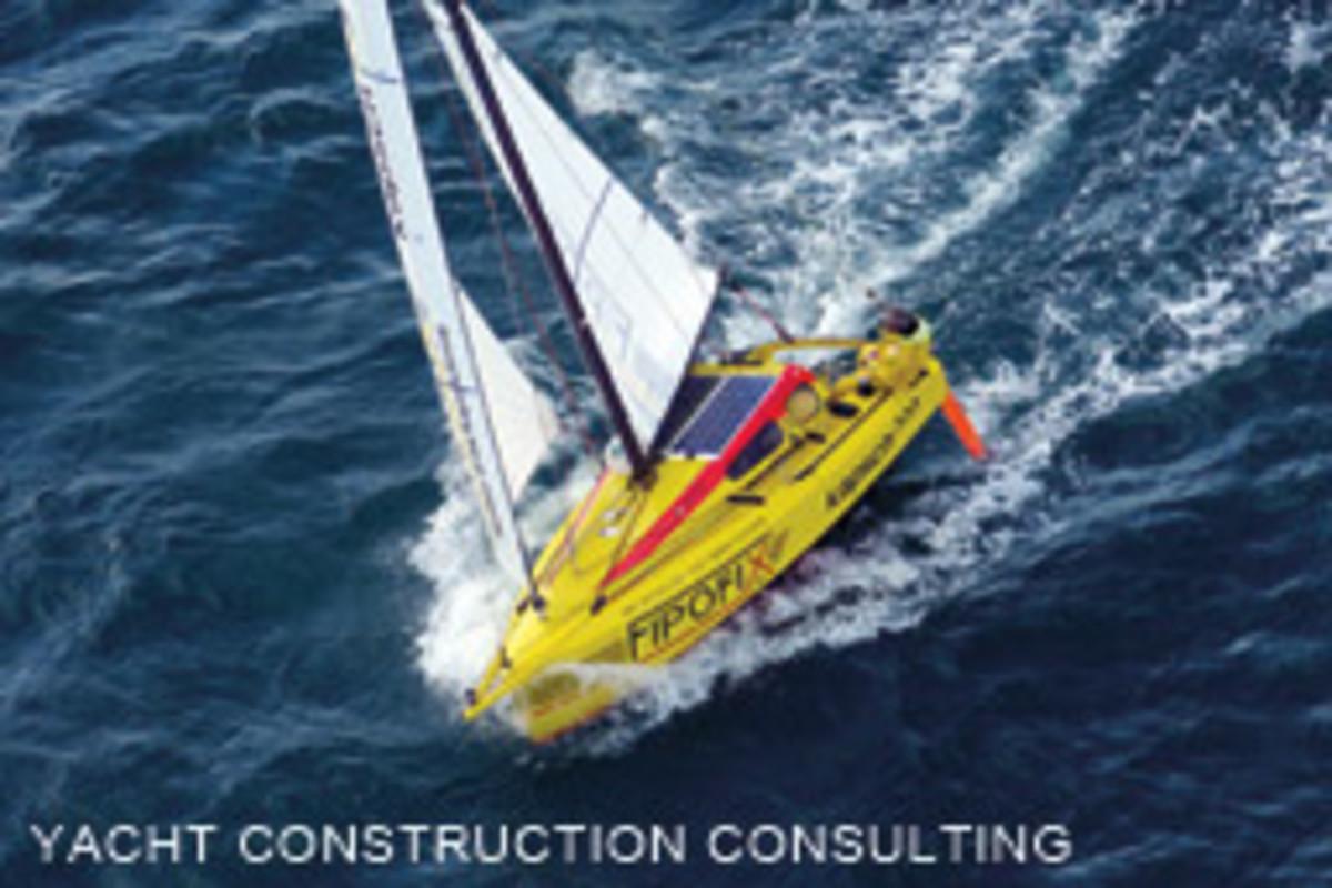 Norbert Sedlacek sea-trials Fipofix, a 16-foot prototype built from volcanic fibers.