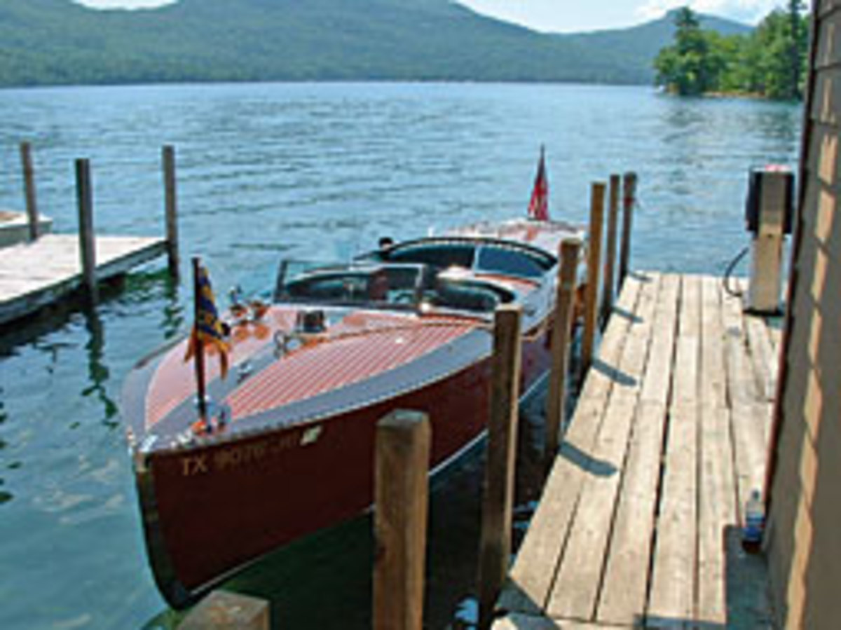 Hacker-Craft has built wooden boats on Lake George, N.Y., since the 1970s.