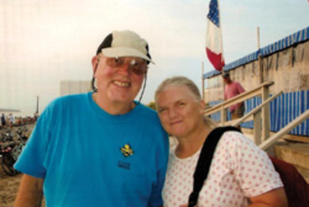 Tom and Vicky Davis