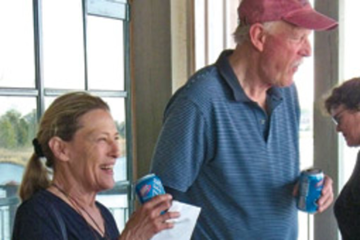 The couple's arrest took their sailing peers by surprise.
