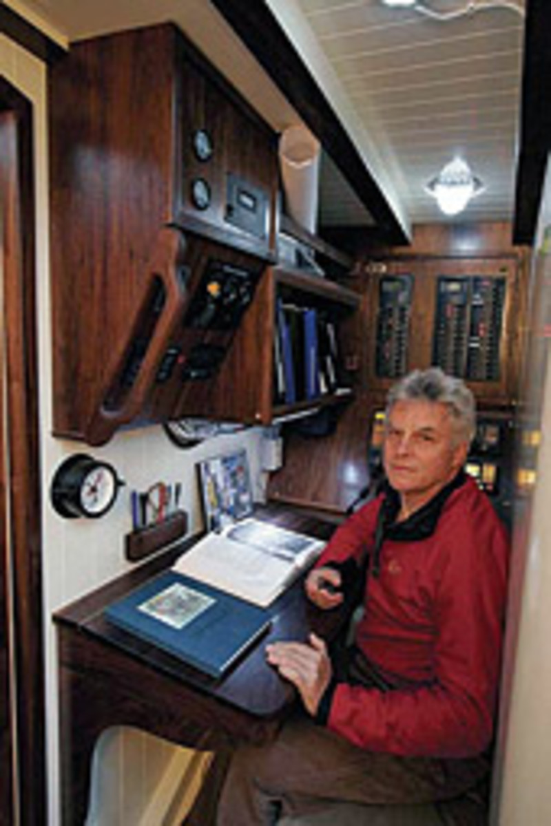 Maggie B. was the boat of a lifetime for sailor Frank Blair.