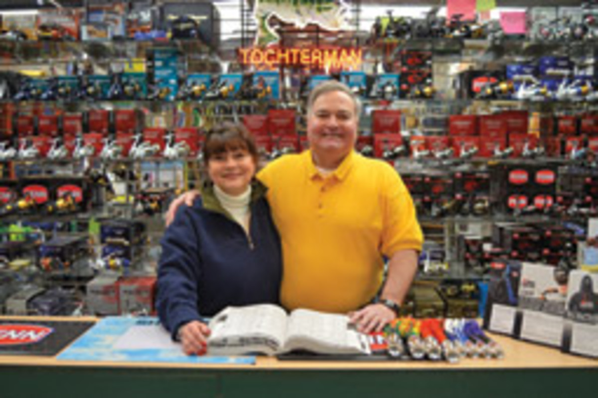 Tony and Dee aare the third-generation owners of Tochterman's. They've run the store since 1981 and live accross the street, just as previous Tochtermans did.