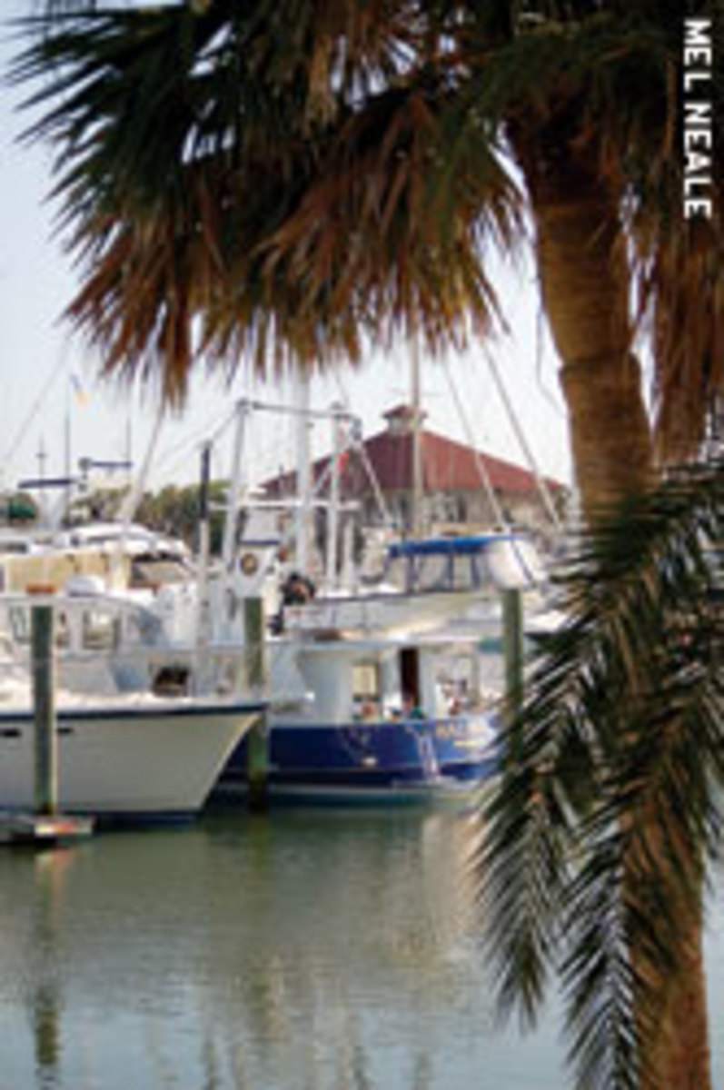 Living aboard at a marina is good practice for cruising.