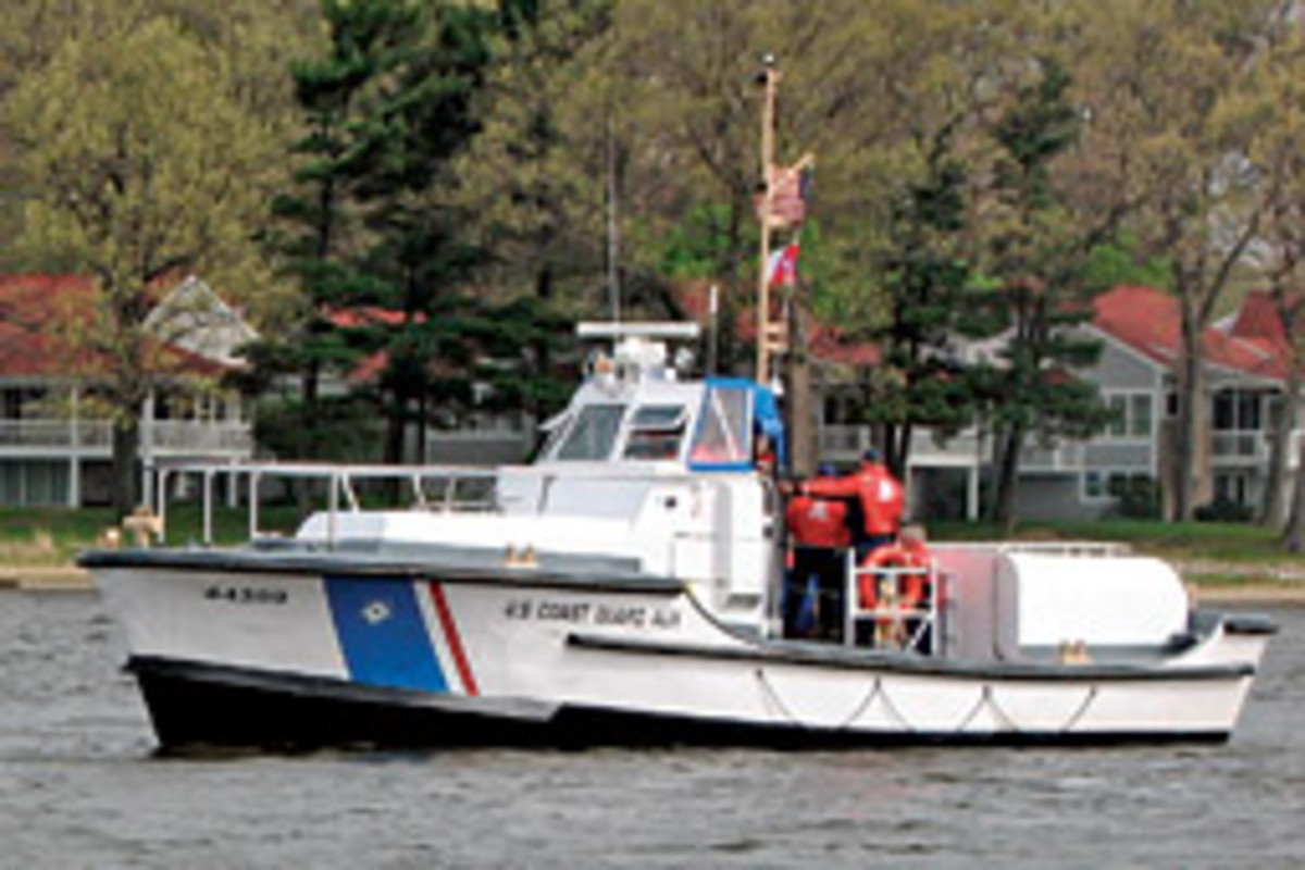 This 44 MLB now serves a Coast Guard auxiliary flotilla in Grand Haven, Mich.