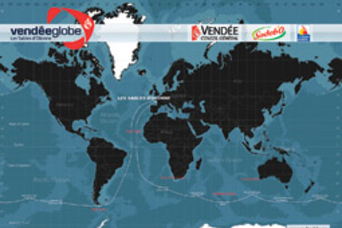 The non-stop 26,000-mile Vendee Globe is one of the most grueling single-handed races out there.