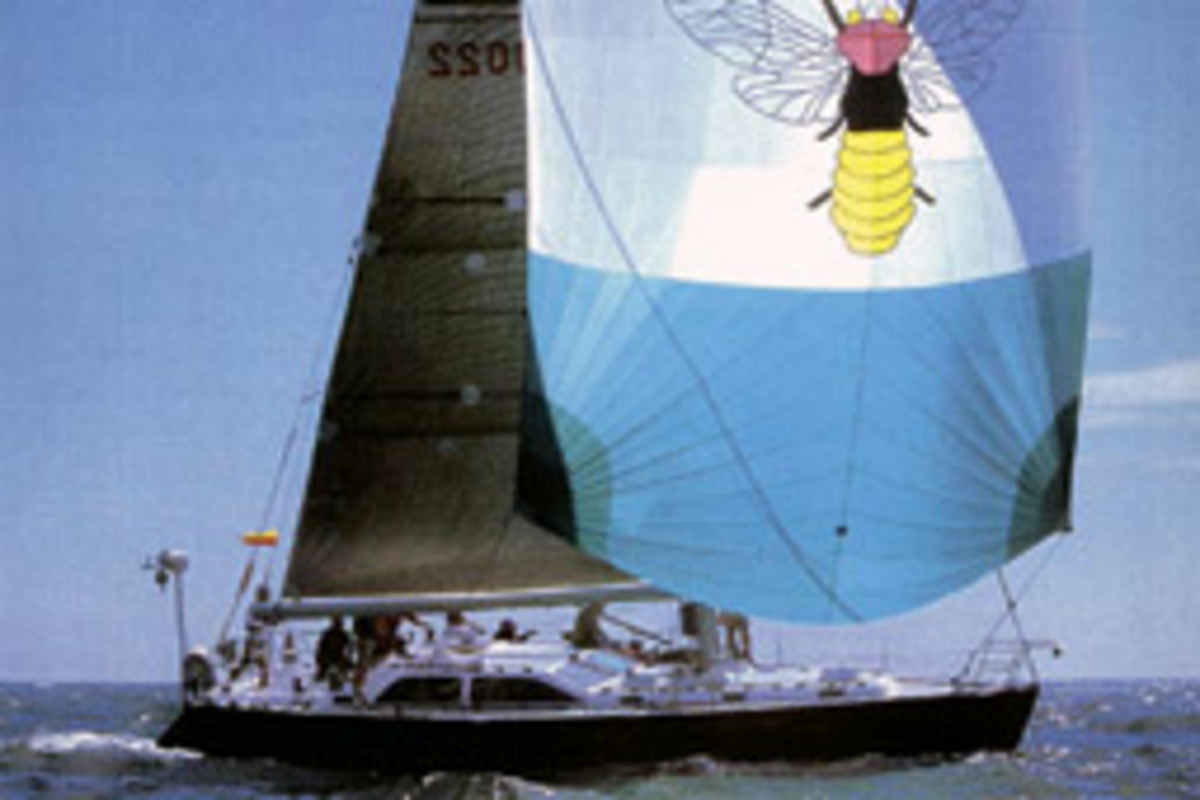 Firefly appealed, in part, to Strong because it was hull No. 1 of the Morris M45 built by Bass Harbor, Maine-based Morris Yachts.