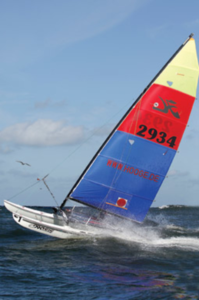 Alter's Hobie Cat turned a niche sport into a popular pastime.