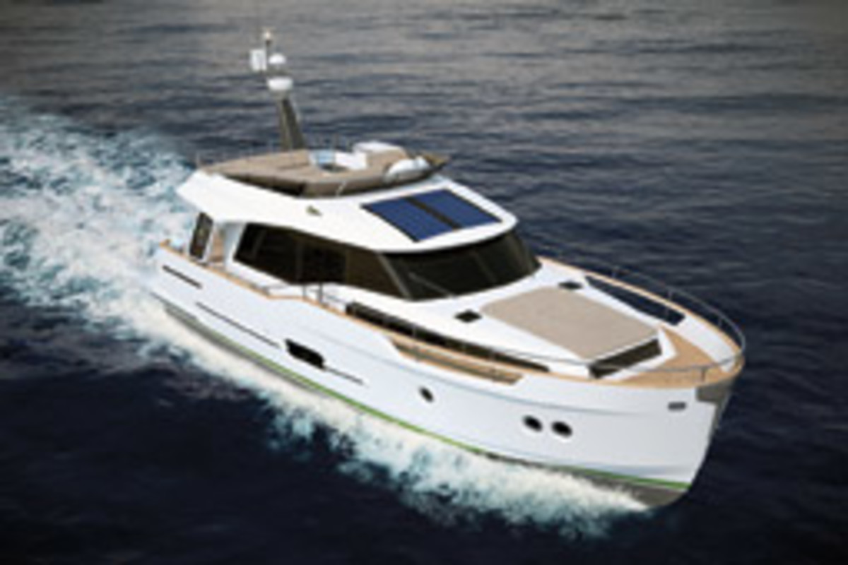 The Greenline 48 makes its U.S. debut this summer.