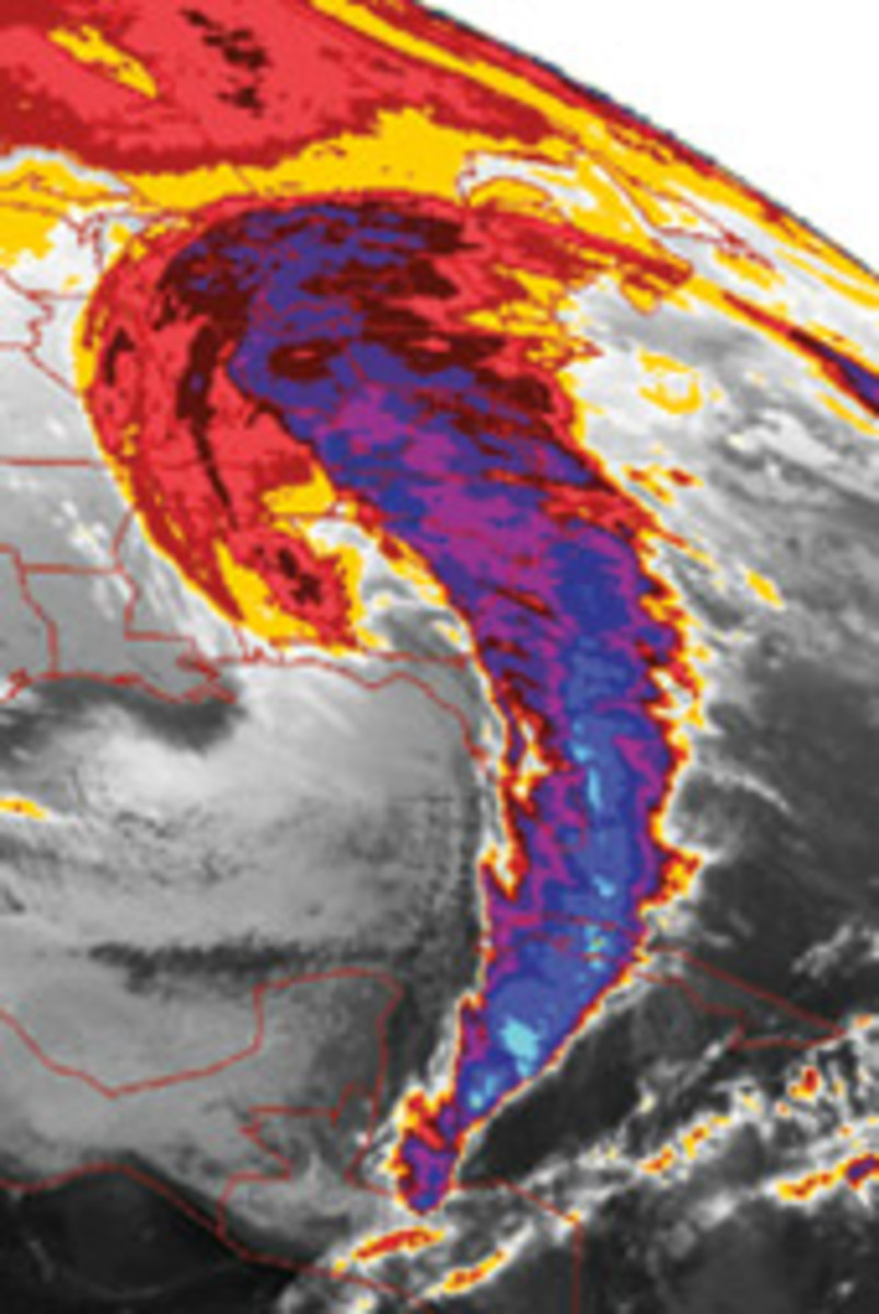 NOAA forecasts are a vital source of storm information.