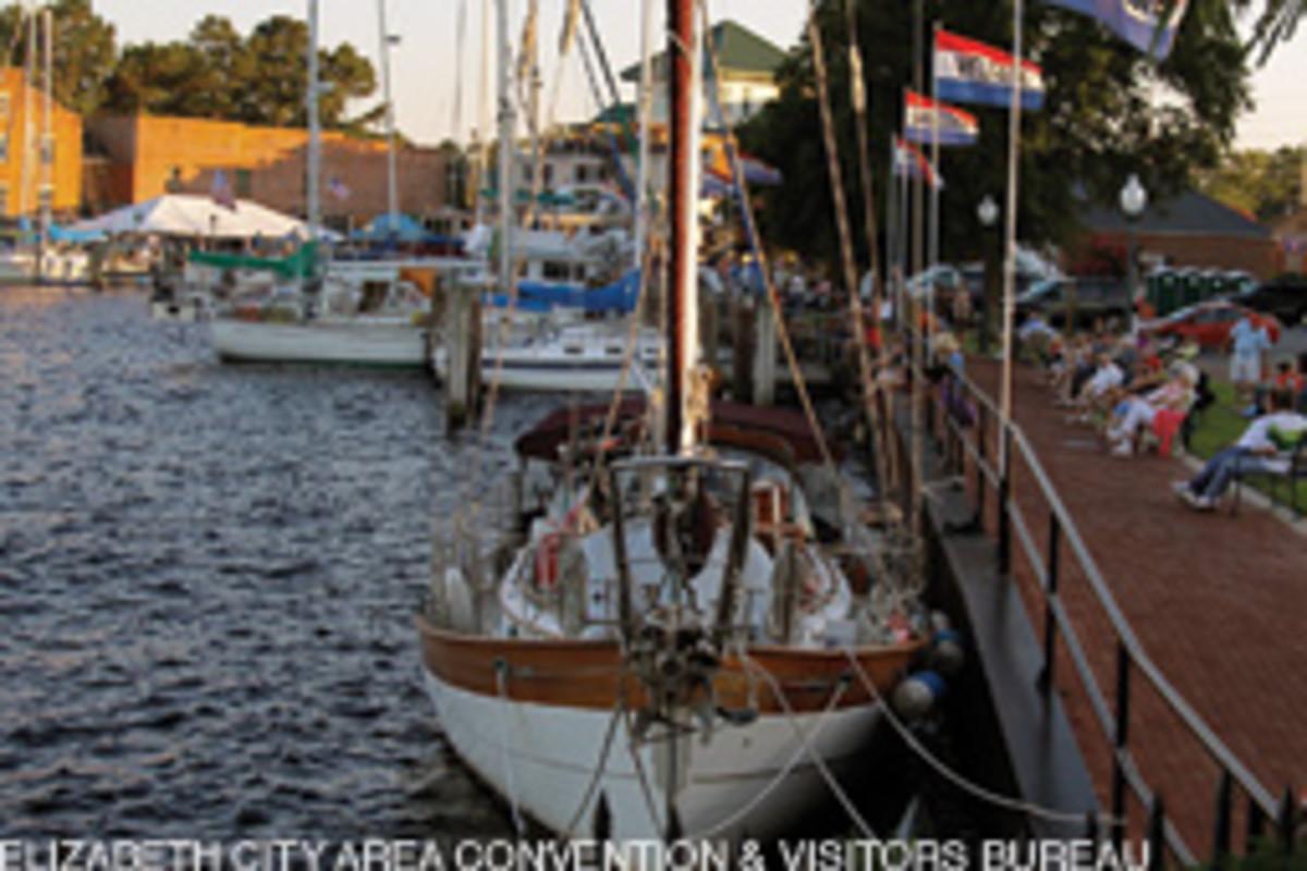 Docking at Mariners' Wharf.