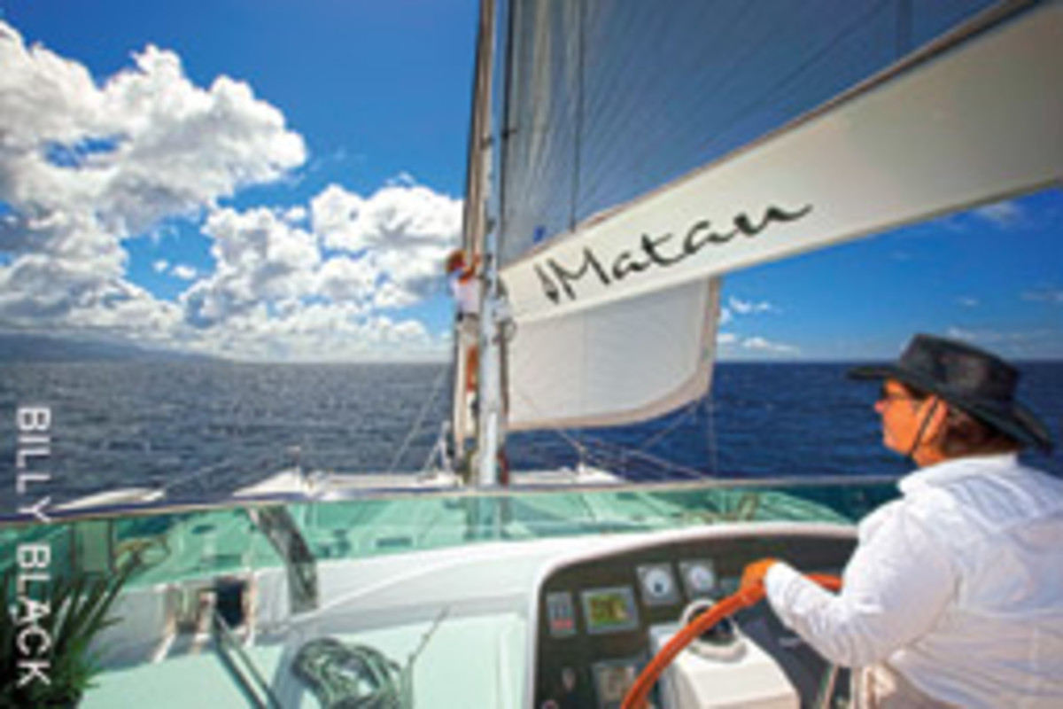 Wagner captained the charter yacht Matau, a 75-foot Privilege catamaran, as well as several traditional sailing vessels.