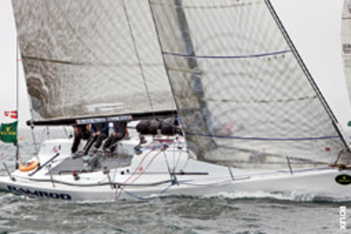 Rod Jabin's RAMROD (Annapolis, Md.) won the Farr 40 class at Block Island Race Week presented by Rolex.