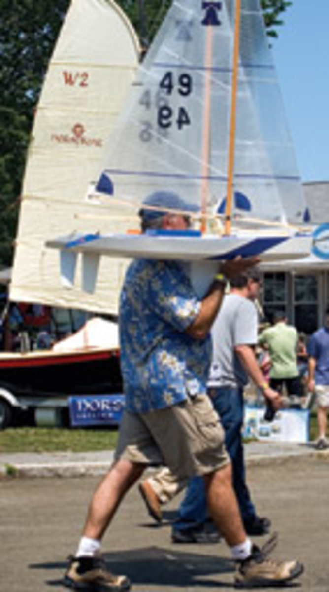 Remote-controlled and model sailboats show that craftsmanship is not limited to bigger boats.