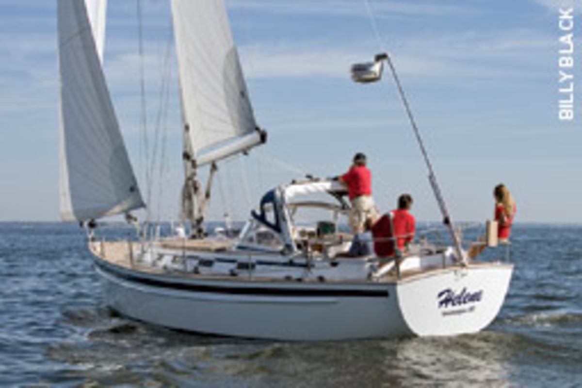 The Myerses planned to sail their Malo 37 to Cuba if they had to flee U.S. authorities.