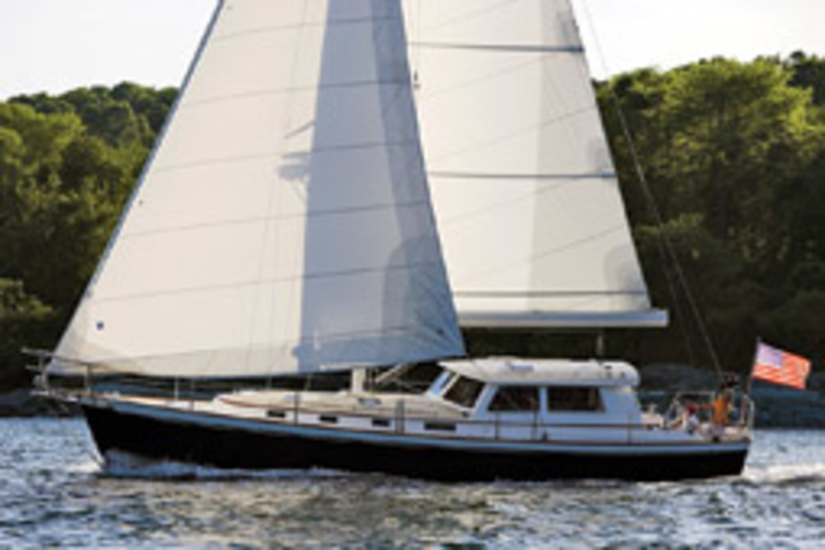 Bruckmann Yachts has built 10 of its 50 MK II motorsailers since 2001 and has plans for a 65-footer.